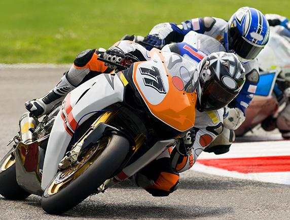 Motos de course